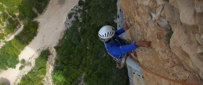 escalada en roca sierra de guara